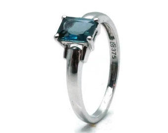 London Blue Topaz, London Blue Topaz Ring, Blue Topaz, London Blue, Blue Topaz Ring, Topaz Ring, London Blue Ring, Topaz Engagement, Topaz