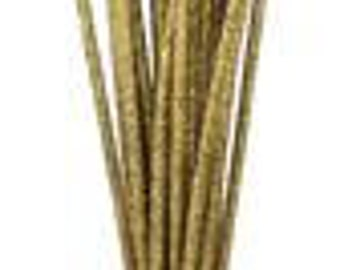 Gold Glitzy Sticks RS500208,  Deco Mesh Supplies (24 STICKS)