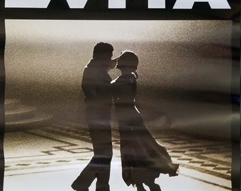 Evita Movie Poster:  Original 1986 Madonna and Antonio Banderas
