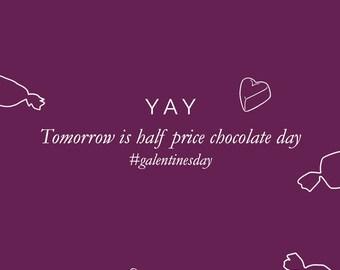 Half Price Chocolate (e-card)