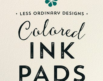 All purpose Inkpads or VersaColor Pigment-Based Ink Pads, Rubber Stamp Pad - Many Colors to Choose From
