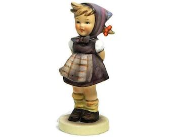 Hummel Figurine Which Hand? #258 Goebel West Germany TMK 4