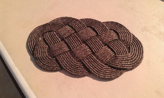 Ocean Plait Rope Doormat
