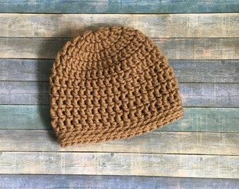 Handmade Newborn Crocheted Baby Hat