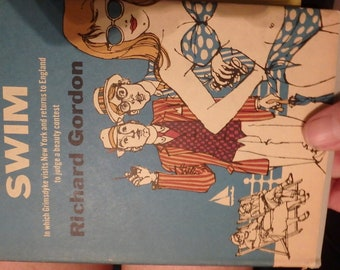 1962 book club edition- Doctor in the Swim- by richard gordon