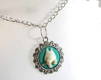 Totoro Inspired Necklace