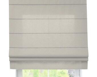 Roman shade - cotton (18 colors)