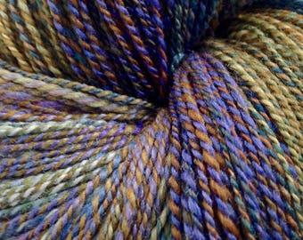 Handspun Merino/ Silk Laceweight Yarn