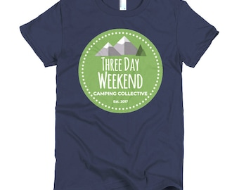 Three Day Weekend Logo Short sleeve women's t-shirt