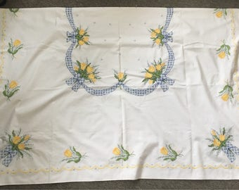 Yellow Roses Tablecloth