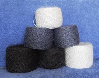 Downy yarn