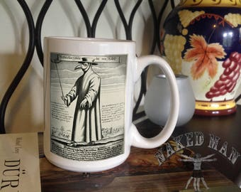 Plague Doctor 15 oz Coffee Mug