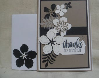 Thank You Card, Cards, Handmade Cards, Greeting Cards