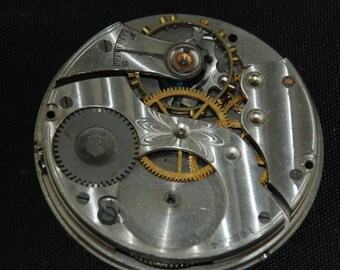 Gorgeous Vintage Antique Watch Pocket Watch Movement Steampunk S 97