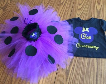 Minnie Mouse TuTu with matching top