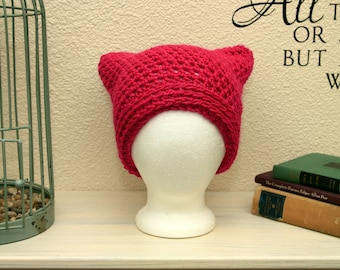 Crochet Angry Kitty Slouch