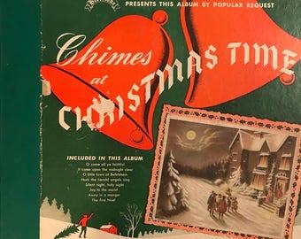 Vintage Bibletone Chimes at Christmas Time Album