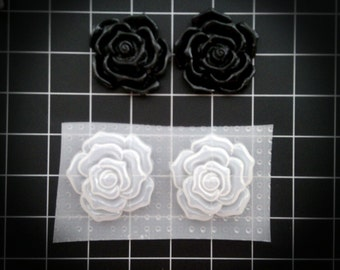 Beautiful Roses Resin Mold 3 Different Sizes, Your Choice