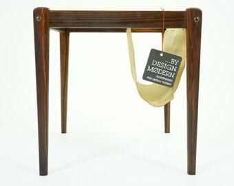 310-237 Rosewood Side Table Danish Mid Century Modern