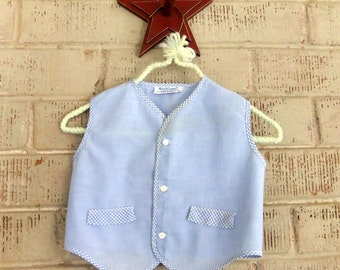 Vintage Blue Baby Shirt