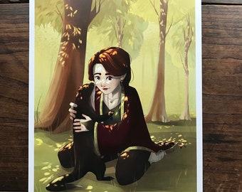 Familiar - Original Art Print