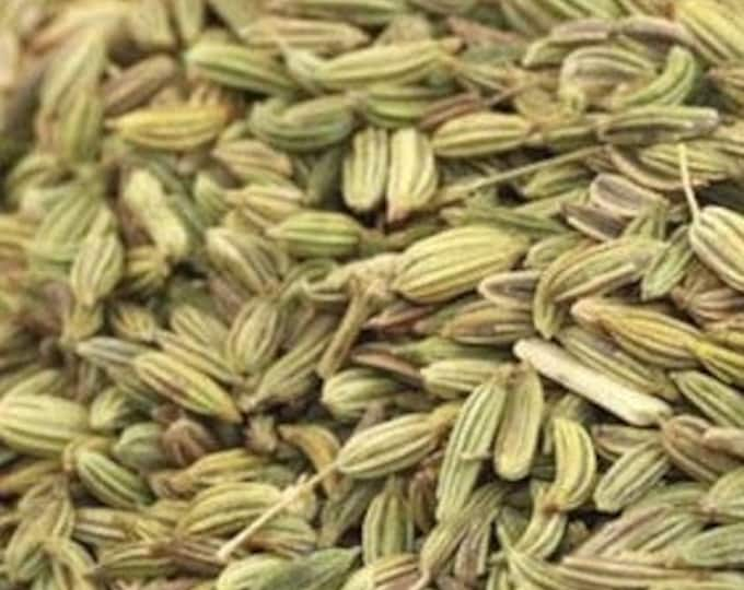 Fennel Seed, Whole or Powder - Certified Organic