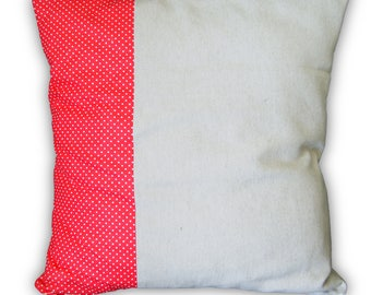 Cushion cover 40 X 40 xm red retro pop