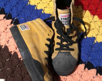 Vintage 80s Vision Street Wear sneakers mens 6 womens 7.5 thrashed