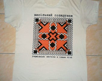 RARE VINTAGE 80 THE wedding present 50/50 punk rock indie concert tour t shirt