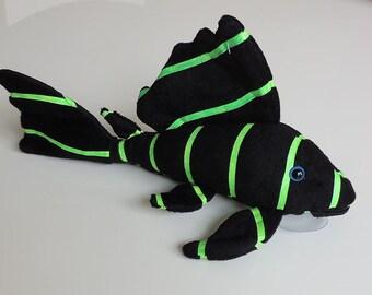 Neon Plecostomus Plush Green