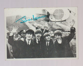 Vintage Beatles trading card No.75 T.C.G. 2nd series