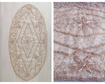 Hand made decorative oval tablecloth  your home decor