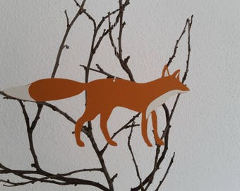 Paper Pendant Fox