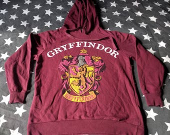 Gryffindor Harry Potter hoodie size m movie goblet of fire snape voldermort fantasy magic