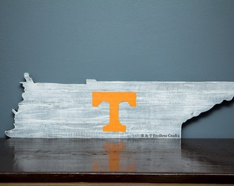 Tennessee Vols hand painted wood sign