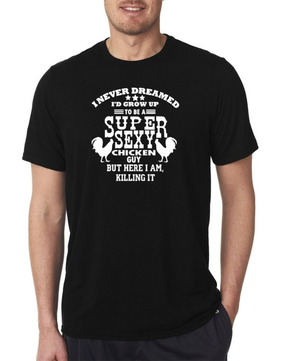 Crazy Man Pollo T-shirt L8aK9RF8