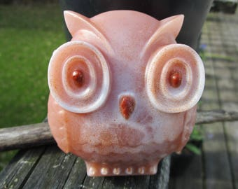 Owl Soap with scent of Twigs and Berries. With Vitamin E and Aloe extract.