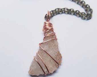 Wire Wrapped Quartz