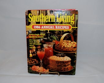 Southern Living 1986 Annual Recipes Cookbook