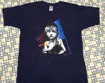 LES Miserable T-Shirt ©1986 CMOL Vtg