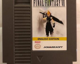 Final Fantasy VII 7 NES Reproduction