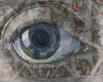 "Eye Level. Print. 15""x10.5"""