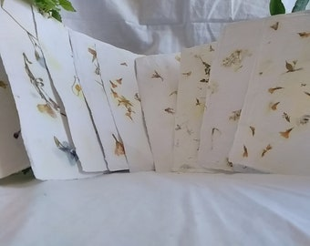 Mixed Petals Handmade Recycled Paper Sheets