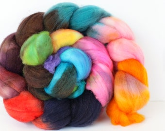 Copper Ridge 4 oz Merino softest 19.5 micron Roving Top for spinning