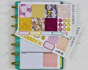 SALE! Autumn Darling Kit for the Mini Happy Planner, Happy Planner Mini Kit, Mini HP Kit, HP Mini Kit, Autumn Stickers, Autumn Planner