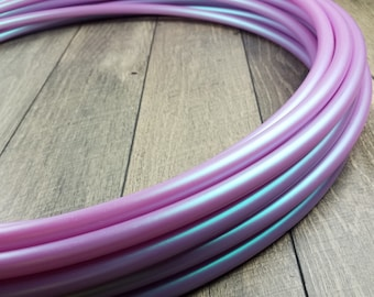11/16 Polypro: Double Rainbow Color Shift Hula Hoop- Made to Order
