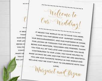 Wedding Welcome Notes, Wedding Itinerary, Welcome Letters, Wedding Thank You, Wedding Welcome Bags, Wedding Favors, Destination Weddings