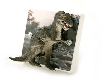 T Rex Dinosaur Light Switch - Children's Dinosaur Themed Bedroom Ideas - Dinosaur Bedroom Gift - T Rex Dinosaur Light - Boys Dinosaur Gift