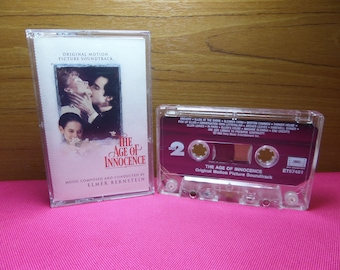 The age of Innocence - Original motion Picture soundtrack - cassette tape