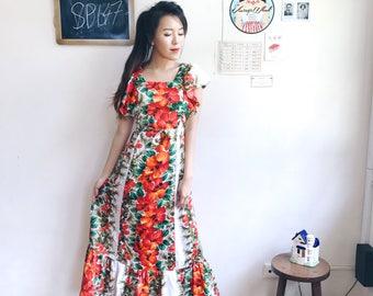 Vintage Midi Dress SP147